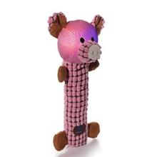 Light Heads Dog Toy - Pig