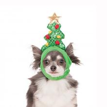 Light Up Christmas Tree Dog Hat