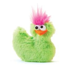 Li'l Rooster Dog Toy - Lime Green