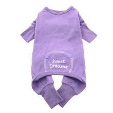 Lilac Sweet Dreams Thermal Dog Pajamas
