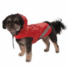 London Dog Rain Slicker - Red