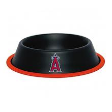 Los Angeles Angels Dog Bowl - Black