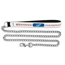 Los Angeles Dodgers Leather Dog Leash