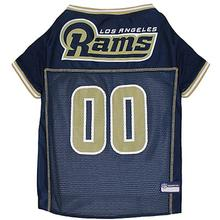 Los Angeles Rams Officially Licensed Dog Jersey - Gold Trim