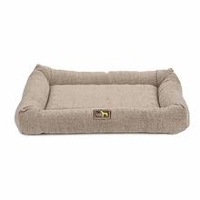 Luca Crate Cuddler Dog Bed - Cobblestone Tweed