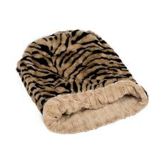 Luca Cuddle Pouch Dog Bed - Tiger Tan