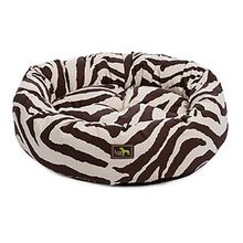 Luca Nest Dog Bed - Brown Zebra