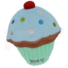 Lulubelles Power Plush Dog Toy - Blue Pupcake