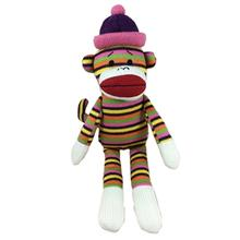 Lulubelles Power Plush Dog Toy - Louie Sock Monkey