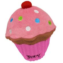 Lulubelles Power Plush Dog Toy - Pink Pupcake