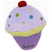 Lulubelles Power Plush Dog Toy - Purple Pupcake