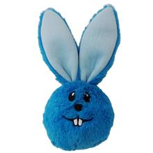 Lulubelles Power Plush Dust Bunny Dog Toy - Blue