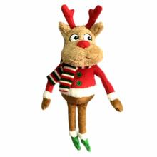 Lulubelles Power Plush Holiday Dog Toy - McJingles Deer