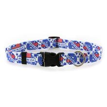 Made in USA Dog Collar by Yellow Dog - White
