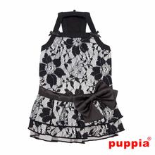 Majestic Dog Dress by Puppia - Black
