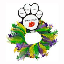 Mardi Gras Smoochers Pet Scrunchie