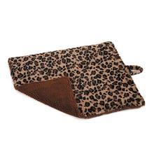 Meow Town ThermaPet Cat Mat - Brown Leopard
