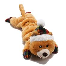 Merry Stretchmas Dog Toy - Bear