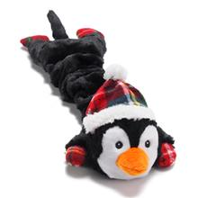 Merry Stretchmas Dog Toy - Penguin