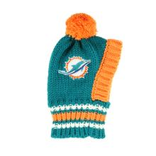 Miami Dolphins Knit Dog Hat