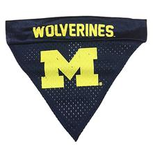 Michigan Wolverines Dog Bandana Collar Slider