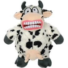 Mighty Angry Animals Dog Toy - Cow