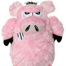 Mighty Angry Animals Dog Toy - Pig