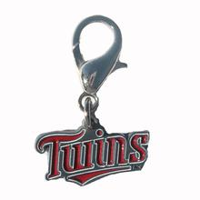 Minnesota Twins Logo Dog Collar Charm
