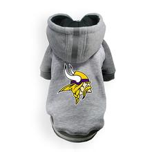Minnesota Vikings NFL Dog Hoodie - Gray