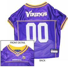 Minnesota Vikings Officially Licensed Dog Jersey - Yellow Trim