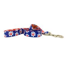 Mix and Match Daisy Dog Leash by Yellow Dog - Royal and Magenta