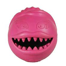 Monster Girl Ball Dog Toy - Pink