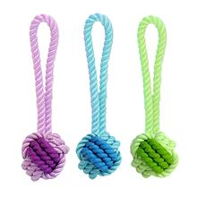 MultiPet Nuts for Knots Tup Rope Rubber Dog Toy