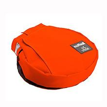 Multisak Dog Leash Accessory Bag - Bright Orange