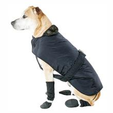 Muttluks Belted Dog Coat - Black