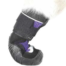 Muttluks Mud Monster Dog Boots - Purple with Reflective Trim - Set of Two