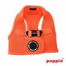 Neon Mesh Soft Dog Harness Vest by Puppia - Orange
