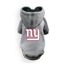 New York Giants NFL Dog Hoodie - Gray