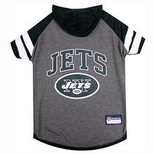 New York Jets Hooded Dog T-Shirt
