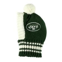 New York Jets Knit Dog Hat