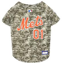 New York Mets Dog Jersey - Camo