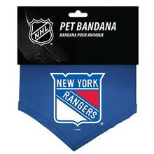 New York Rangers Cotton Dog Bandana
