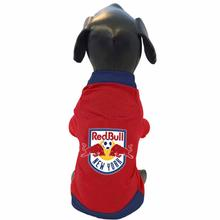 New York Red Bulls Athletic Mesh Dog Jersey