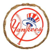 New York Yankees Dog Treat Cookie