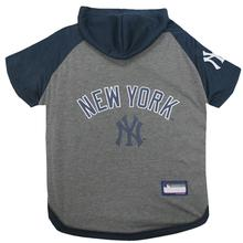 New York Yankees Hooded Dog T-Shirt