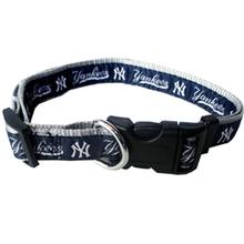 New York Yankees Officially Licensed Ribbon Dog Collar
