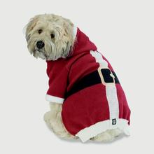 Nick's Santa Dog Sweater - Red
