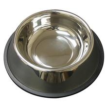 Non-Tip Anti-Skid Stainless Steel Dog Bowl by QT Dog