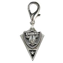 Oakland Raiders Pennant Dog Collar Charm