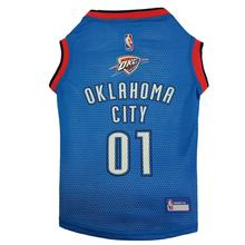 Oklahoma City Thunder Dog Jersey - Blue